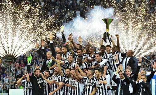 2014-2015 Serie A Champion - Juventus