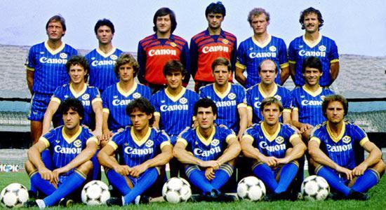 Hellas Verone 1984 85