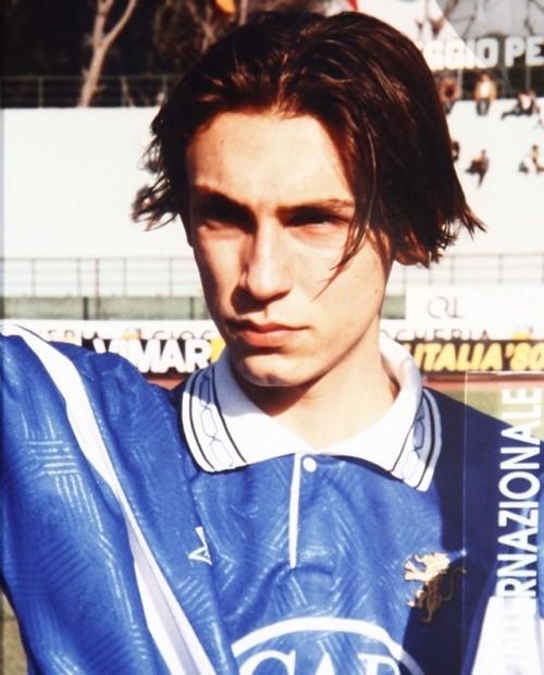 Brescia, Andrea Pirlo da bambino quando giocava nelle giovanili del Flero