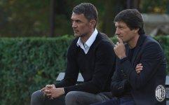 Paolo Maldini et Leonardo